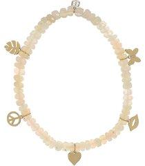 mini pure opal bead bracelet