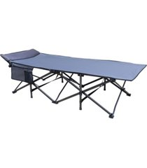osage river 600 lbs. deluxe cot with built in pillow