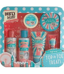 dirty works beauty top to toe treats 6 pc gift set