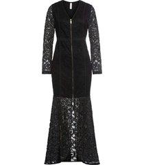 abito da sera lungo (nero) - bodyflirt boutique