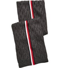 tommy hilfiger men's ski patrol striped scarf