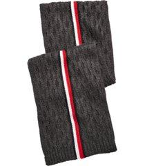 tommy hilfiger men's ski patrol striped scarf
