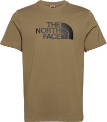 m s/s easy tee t-shirts short-sleeved grön the north face