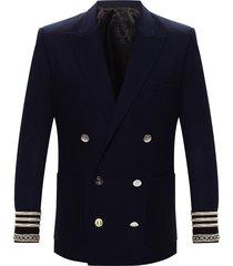 blazer with peaked lapels