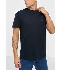 jack & jones jormirrage tee ss crew neck t-shirts & linnen mörk blå
