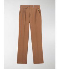 burberry pleated trousers