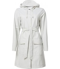 rains regenjas belt jacket off white