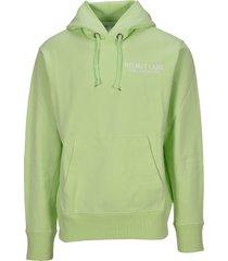 helmut lang graphic print hoodie