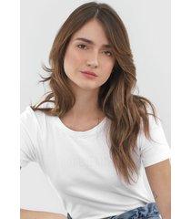 camiseta coca-cola jeans aplicações branca - kanui