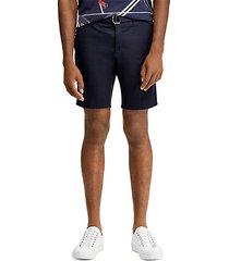 slim-fit chino shorts