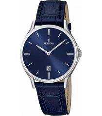 reloj classic azul festina