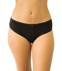 calcinha monica qtal lingerie básico preto