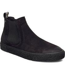 sluggish stövletter chelsea boot svart sneaky steve