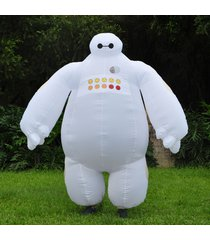 big hero 6 adults inflatable baymax mascot costume fancy dress cosplay outfit