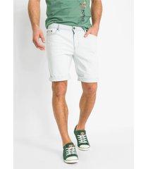 regular fit stretch jeans bermuda met gerecycled polyester (set van 2)