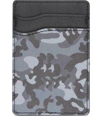 bespoke men's camo adhesive card case