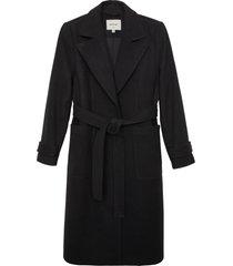 matt & nat evie vegan coat, black
