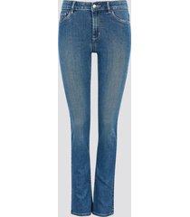 jegging jane slit skinny jeans - blå