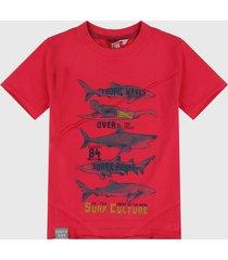 camiseta rojo boboli