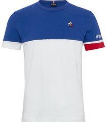 tri tee ss n1 m t-shirts short-sleeved blå le coq sportif