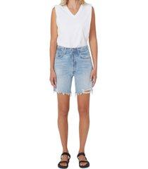 citizens of humanity camilla frayed hem shorts