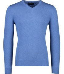 portofino pullover katoen v-hals lichtblauw