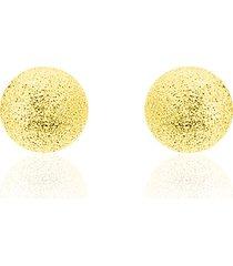 orecchini a lobo in oro giallo per donna
