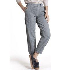 pantalon mujer patagonia algodón orgánico gris rockford