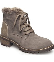 maude boot shoes boots ankle boots ankle boots flat heel brun cream