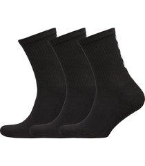 fundamental 3-pack sock underwear socks regular socks svart hummel