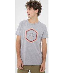 camiseta billabong access cinza