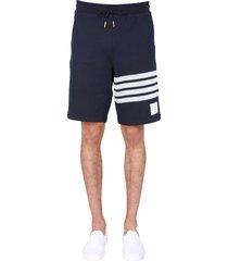 thom browne 4bar fleece shorts