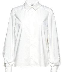 ysabella overhemd met lange mouwen wit rodebjer
