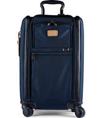 alpha dual access 22-inch nylon suitcase