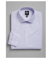 traveler collection traditional fit spread collar shift plaid dress shirt - big & tall, by jos. a. bank