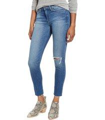 hudson women's blair high-waist super skinny jeans - derby - size 28 (4-6)