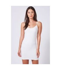 vestido underwear off white - u