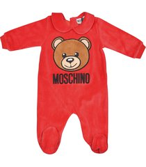 moschino bear logo pajamas