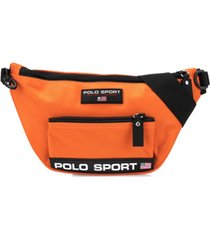 ralph lauren bolsa transversal polo sport - laranja