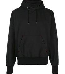 takahiromiyashita the soloist textured style hoodie - black