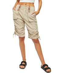women's free people cassidy cargo shorts
