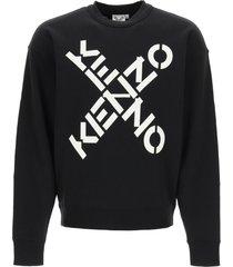kenzo sport big x sweatshirt