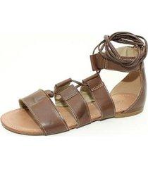 sandalia top franca shoes gladiadora feminina
