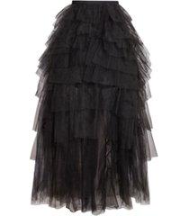 bcbgmaxazria tiered tulle skirt