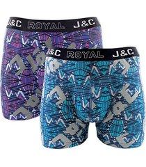 j&c heren boxer 2 pak 30059-xl