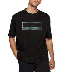 boss men's carbon-foil t-shirt