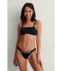 calvin klein brazilian bikini bottom - black
