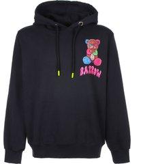 barrow barrow unisex black hoodie
