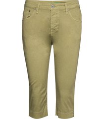 capri cotton trousers capri trousers grön please jeans