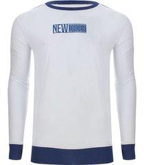 camiseta manga larga new order color azul, talla xs